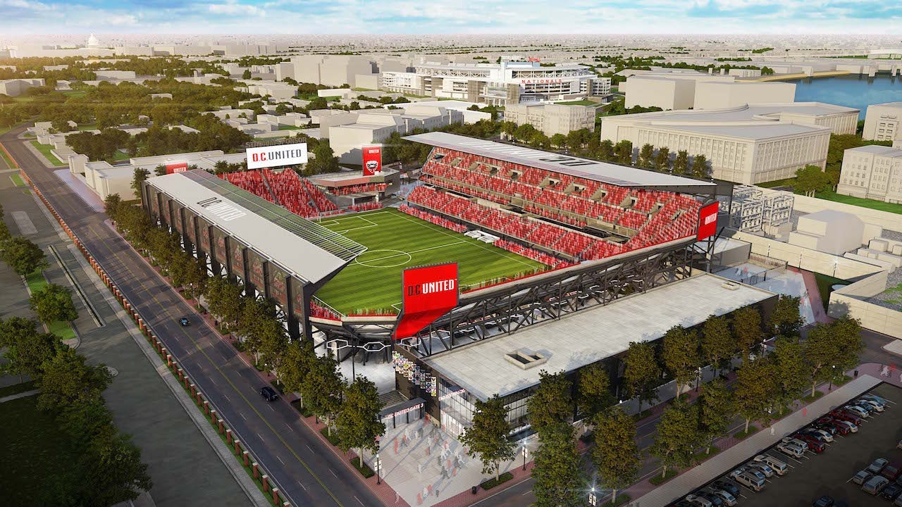 D C United Tweaks Stadium Design Soccer Stadium Digest