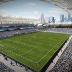 Proposed Charlotte MLS stadium