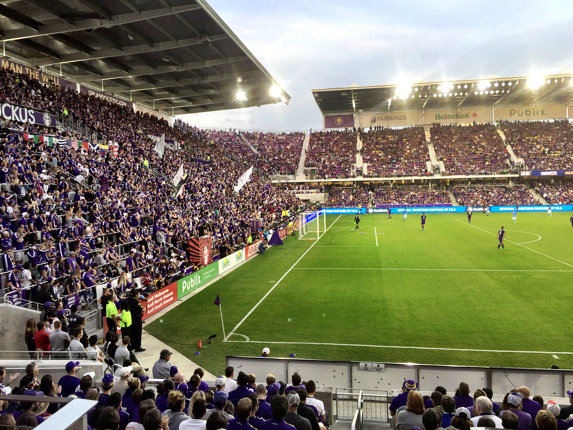 New Orlando City Sc Stadium Opens Soccer Stadium Digest