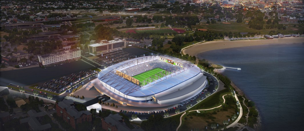Proposed New England Revolution stadium