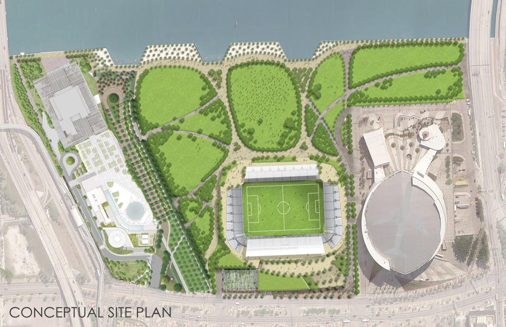 Beckham Miami stadium project