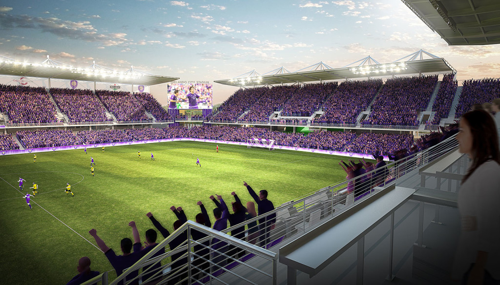 Orlando City SC stadium -- July 31, 2015