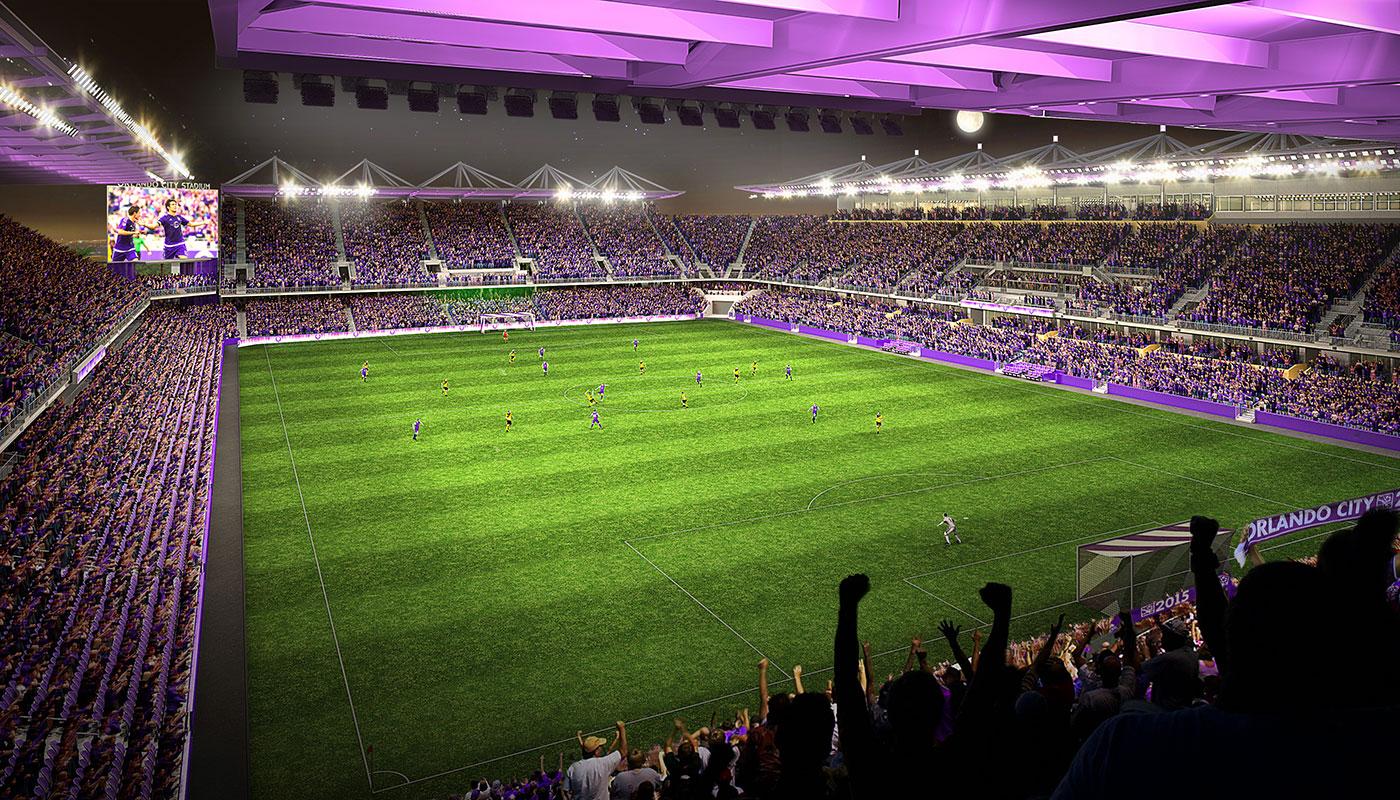 Orlando City SC stadium -- July 31, 2015
