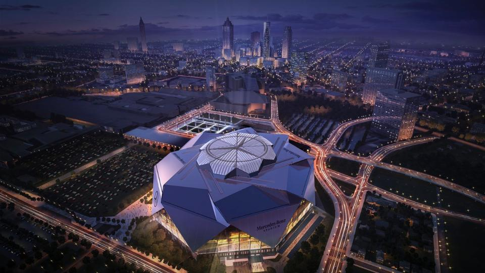 New Atlanta United FC home: Mercedes-Benz Stadium - Soccer Stadium Digest