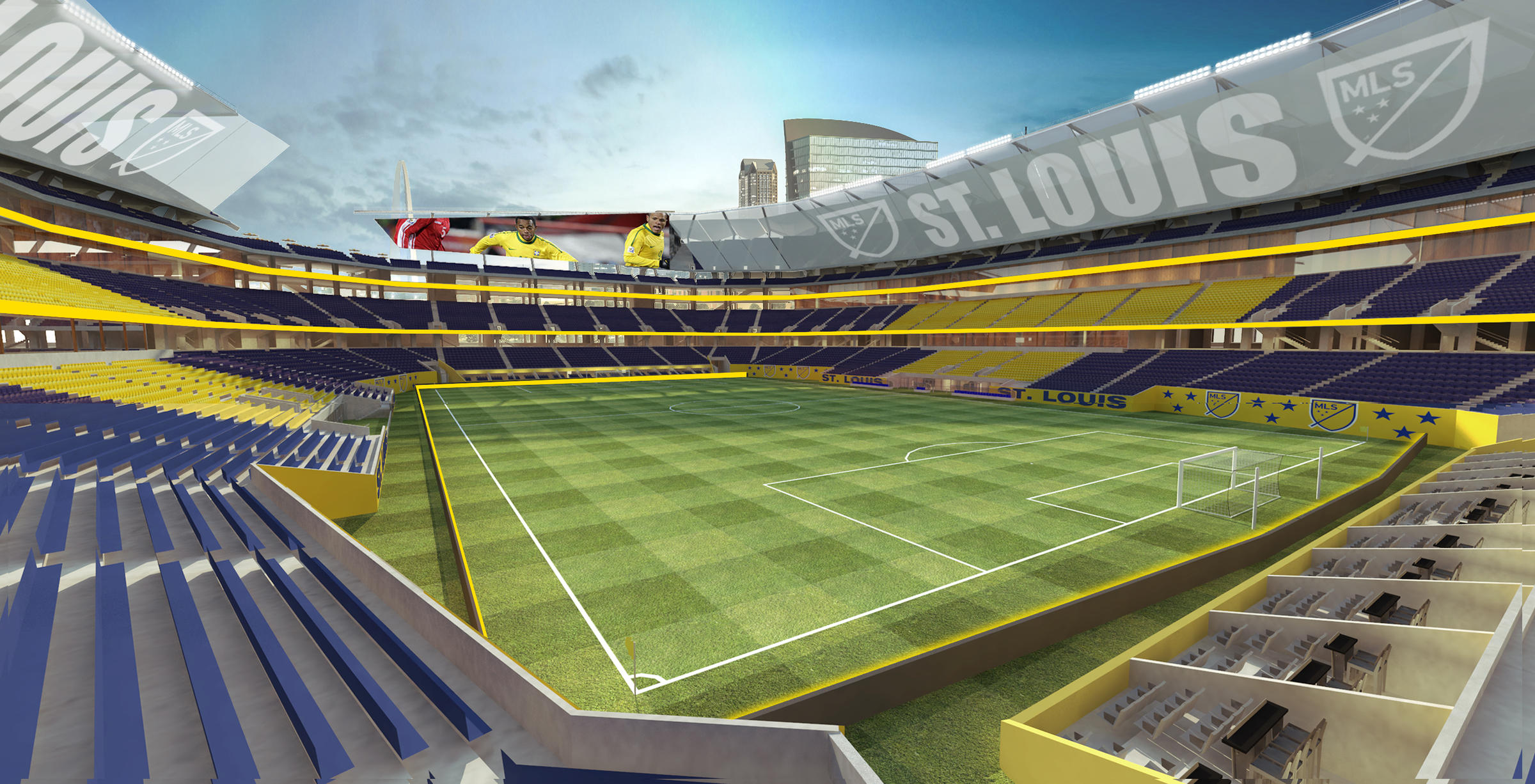 St Louis Obtains Option For Potential Mls Stadium Site