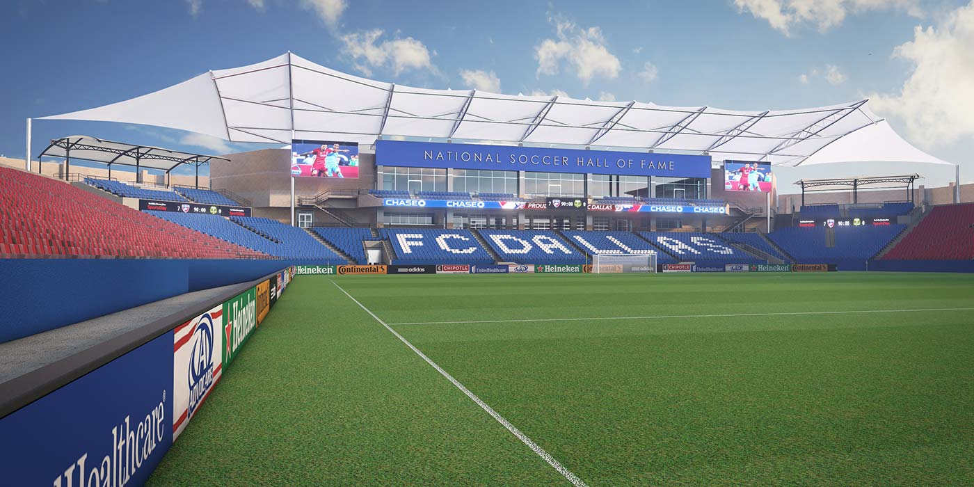 Fc Dallas Releases New Renderings Of Hall Of Fame Soccer