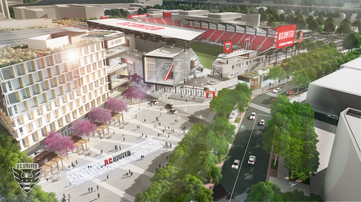 New D.C. United stadium