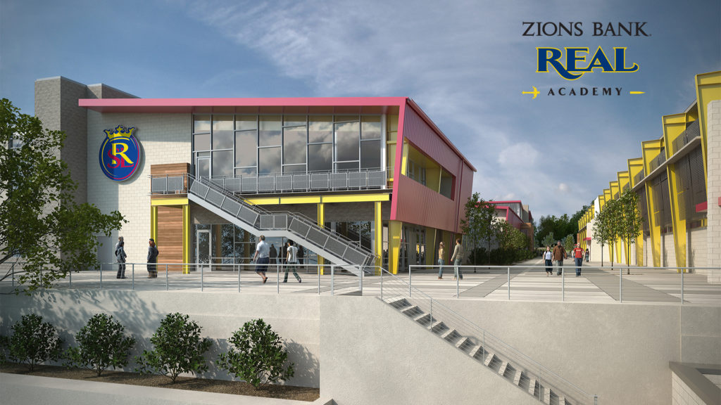 Zions Bank Real Academy rendering