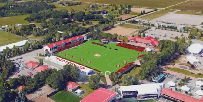 Calvary FC stadium rendering