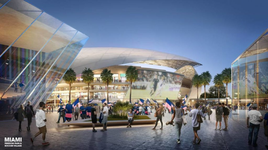 Miami MLS Stadium rendering