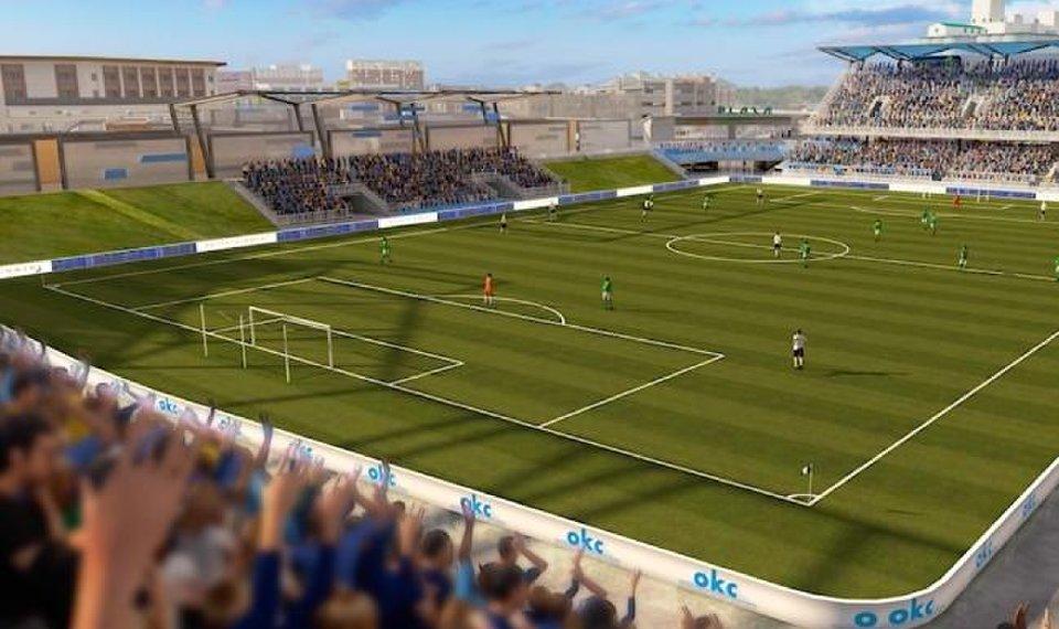 New OKC Energy stadium rendering